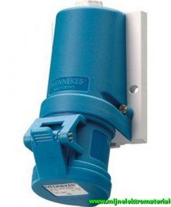 CEE FORM 16A 230V 3P (blauw)